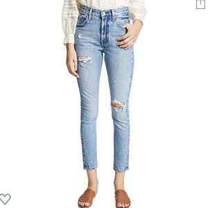 "Levi's • 501 Rigid ""Can't Touch This"" Skinnies 26"